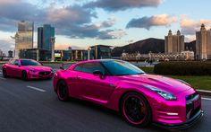 Chrome Pink Wrap combo #autogespot #carwrap