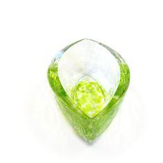 """Elite"" - Murano Glass Oil Cruet, € 55,00 by #AbateZanetti   http://www.abatezanettimurano.com/en/murano-glass-glassware/glassware-accessories/elite-green-oil-cruet.html#.VRKcLzuG_7U #glass #design #venice #green #vert #verre #vetro #verde #italiandesign"