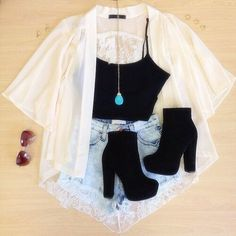casual jean outfits for summer Komplette Outfits, Teen Fashion Outfits, Cute Casual Outfits, Cute Summer Outfits, Cute Fashion, Outfits For Teens, Stylish Outfits, Summer Shoes, Fashion Ideas