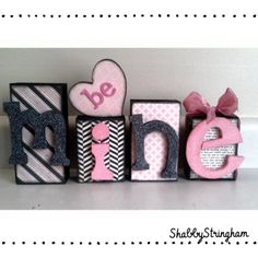 Be Mine Valentines day craft (picture of him on B pic of me on E) and pictures on every letter of us after very goal on MINE