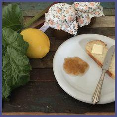Rhabarber Zitronenmarmelade - Trudels glutenfreies Kochbuch, glutenfrei backen und kochen bei Zöliakie. Glutenfreie Rezepte, laktosefreie Rezepte, glutenfreies Brot