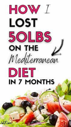 Mederteranian Diet, Med Diet, Diet And Nutrition, Paleo Diet, Easy Mediterranean Diet Recipes, Mediterranean Dishes, Mediteranian Diet Recipes, Low Cholesterol Diet, Diet Plans To Lose Weight Fast