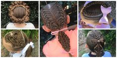 This Mom Braids Her Daughter's Hair in The Most Intricate Designs Every Morning  - CountryLiving.com