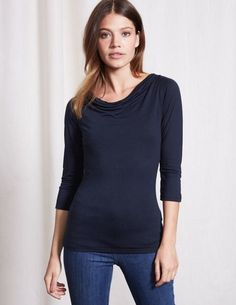 50c4fc4e9c076 Browse our wide range of tops and T-shirts for women at Boden