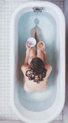 Amazing Lee Price oil paintings portray women and food.