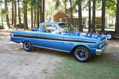 1964 #Ford #Falcon #Ranchero shared by a Facebook fan.
