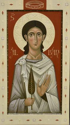 St. Alban by Olga Shalamova