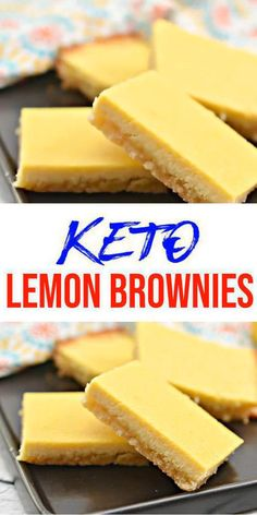 Keto Brownies – BEST Low Carb Keto Lemon Brownie Recipe – Easy – Desserts – Snacks – Sweets – Keto Friendly & Beginner - Keto for beginners Keto Desserts, Keto Dessert Easy, Easy Desserts, Dessert Recipes, Breakfast Recipes, Diabetic Breakfast, Diet Breakfast, Breakfast Ideas, Low Carb Brownie Recipe