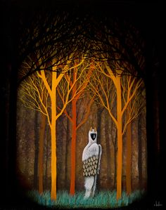 New Mixed-Media Paintings by Artists Andy Kehoe and Redd Walitzki