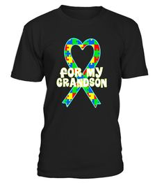 """# Autism T-shirt For My Grandson Awareness Walk Puzzle Ribbon . Special Offer, not available in shops Comes in a variety of styles and colours Buy yours now before it is too late! Secured payment via Visa / Mastercard / Amex / PayPal How to place an order Choose the model from the drop-down menu Click on """"Buy it now"""" Choose the size and the quantity Add your delivery address and bank details And that's it! Tags: Show support with this puzzle heart ribbon Autistic Spectrum Disorder Grandson…"""