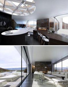Underground eco-house