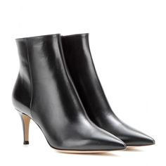 Gianvito Rossi - Leather ankle boots - mytheresa.com GmbH