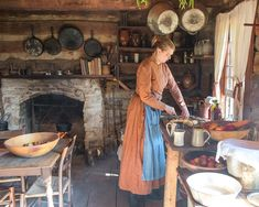 Open hearth cooking – Living History Farms