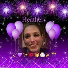 Happy Birthday ~ purple *Queenie