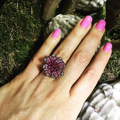 Pink is beautiful - here with our brand new Quadrifoglio ring with pink saspphires ! Druzy Ring, Spring Time, Jewels, Jewellery, Rings, Beautiful, Jewerly, Schmuck, Ring