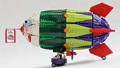 LEGO MOC: Zeppelin del Joker - CazaBricks: LEGO Blog, Noticias, MOCs y ofertas