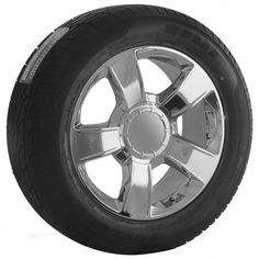 20 Chrome GMC Wheels Rims   Tires Package 6bed252364