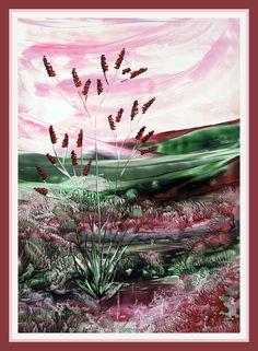 Landschap geschilderd met bijenwas door Beika Kruid Classic Sailing, Wax Art, Fantasy Art Landscapes, Encaustic Painting, Mixed Media, Videos, Poster, Mandalas, Paintings