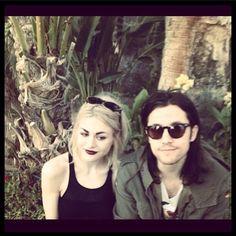 Frances Bean Cobain & her beau