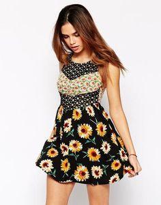 Kiss The Sky Sunnydaze Dress - Black #dress #sunny #women #covetme #kissthesky