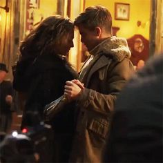 Diana and Steve dancing Gal Gadot Wonder Woman, Wonder Woman Movie, Chris Pine Tumblr, Gal Gadot Chris Pine, Diana, Bionic Woman, Justice League Wonder Woman, I Believe In Love, Movie Couples