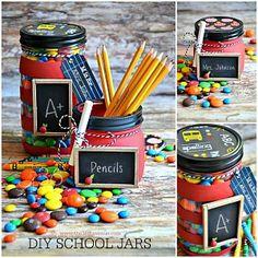 Back to School DIY Jars | The 36th AVENUE