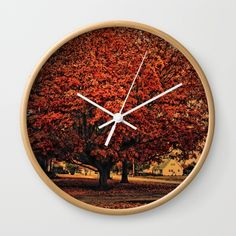 "Use my #promo link to get 10% off all #home #Decor and #FREE Shipping in my shop! https://society6.com/daugustart?promo=XZ3WY26P3CNJ  Available in natural wood, black or white frames, our 10"" diameter unique Wall #Clocks feature a high-impact plexiglass crystal face and a backside hook for easy hanging. Choose black or white hands to match your wall clock frame and art design choice. Clock sits 1.75"" deep and requires 1 AA battery (not included)."