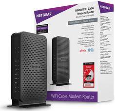 Amazon.com: NETGEAR N600 Wi-Fi DOCSIS 3.0 Cable Modem Router (C3700): Computers…
