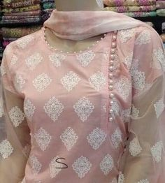 Best 12 Cheap High Fashion Women S Clothing Code: 2968776264 – Page 1829656084349888 Salwar Designs, Salwar Suit Neck Designs, Simple Kurti Designs, Kurta Neck Design, Neck Designs For Suits, Sleeves Designs For Dresses, Neckline Designs, Stylish Dress Designs, Kurta Designs Women