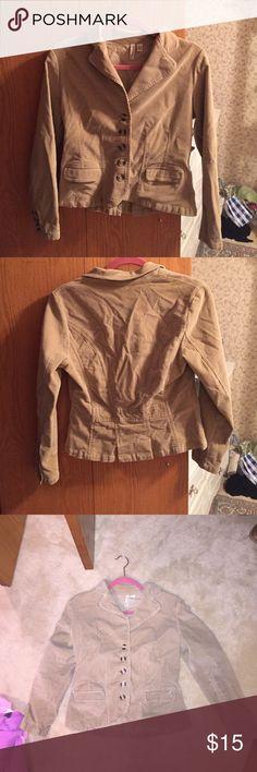Corduroy Blazer Great condition, Nice layering piece St. John's Bay Jackets & Coats Blazers