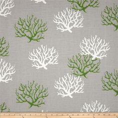 Premier Prints Indoor/Outdoor Isadella Coral Citrus from Premier Prints outdoor fabrics are screen printed on spun polyester and have a stain and water resistant finish. These fabrics withstand direct sunlight for up to 1000 hours making th Outdoor Fabric, Indoor Outdoor, Outdoor Ideas, Outdoor Pillow Covers, Premier Prints, Grey Fabric, Wall Fabric, Cotton Fabric, Chair Fabric