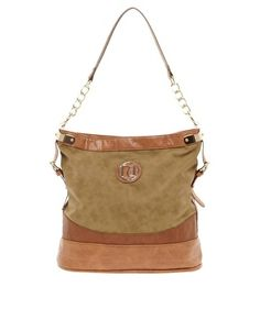 River Island Slouch Bag - Neutral/Warm Colorings