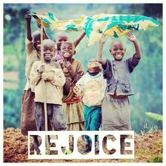 Rejoice! -Tsakani na mina. rejoice with me.
