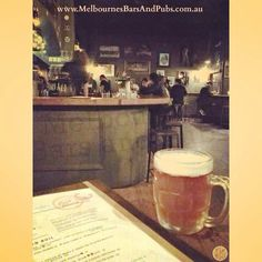 Melbourne's Bars and Pubs ( Melbourne Pubs, Pub Bar, Cool Bars, Twitter, Bar Stand