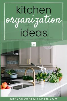 Is your kitchen organized for efficiency? Is it easy to cook in quickly when you need to? If not you need the tips and tricks and ideas in this article on kitchen organization. You will be impressed with how much less stressful cooking is in a tidy kitchen! #pantry #organization #kitchenplan #easy #learntocook Tidy Kitchen, Kitchen Pantry, Kitchen Items, Kitchen Hacks, Kitchen Cabinets, Strawberry Huller, Easy Summer Desserts, Dinner This Week, Homemade Breakfast