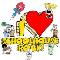 Ah, Saturday morning memories. :) #schoolhouserock #cartoons #nostalgia