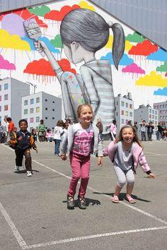 SETH Globe-Painter #streetart #wall #painting