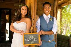 Outdoor California Wedding By A Blake Photography
