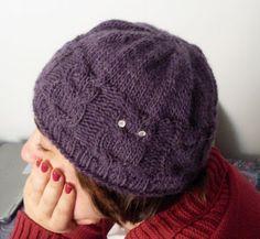gorro de corujinhas | Mademoiselle et le tricot