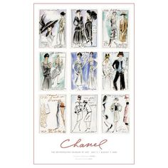 Karl Lagerfeld: CHANEL, Decade by Decade Poster