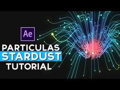 Animación de Particulas Con Stardust After Effects Tutorial - YouTube