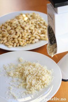 Hjemmelaget marsipan   Det søte liv Risotto, Grains, Rice, Ethnic Recipes, Food, Essen, Meals, Seeds, Yemek