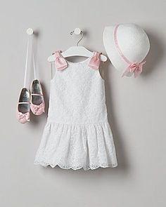 d036221fe Organza Glamour- Janie and Jack Zapatos De Niñas Pequeñas, Vestidos Bonitos Para  Niña,