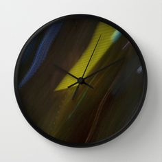Light Breeze Wall Clock by Lisa De Rosa-Essence of Life Photography