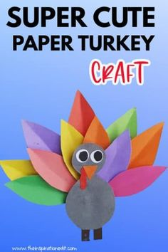 Check out this fantastic and super easy Paper Turkey Craft for Thanksgiving. Kids will gonna love this simple paper craft perfect for the festivity. Get your own printables and step-by-step instructions at The Inspiration Edit. #Thanksgiving #crafts #turkeycrafts #kidscraft #craftsforkids #preschool #craftideas #papercraft Sharpie Crafts, Glue Crafts, Bottle Crafts, Thanksgiving Crafts For Toddlers, Crafts For Kids To Make, Kids Crafts, Printable Crafts, Printables, Turkey Pattern