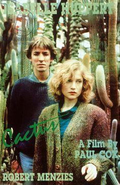 Affiche du film Cactus de Paul Cox avec Isabelle Huppert 1986
