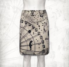 Fairground attraction stretch cotton short skirt by FollyandFoible Plain Black, Black And Grey, Fashion Beauty, Womens Fashion, Cotton Shorts, Short Skirts, Cool Outfits, Dress Up, Attraction
