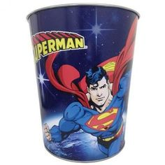 DC Comics 12010461 Superman Waste Basket