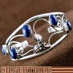 Lapis and Sterling Silver Hand Crafted Native American Jewelry