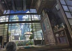 夏の日の昼下がり by K,Kanehira | CREATORS BANK http://creatorsbank.com/KKanehira/works/276464